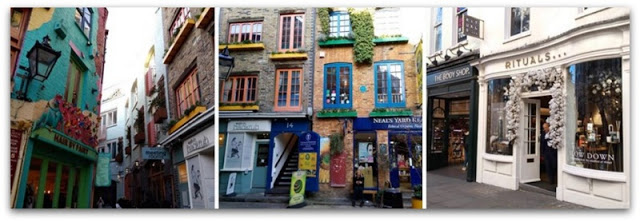 Neal's Yard Londyn i Covent Garden